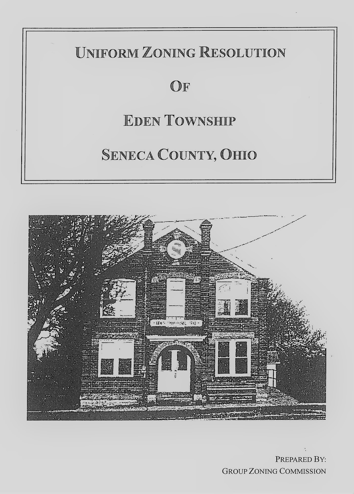 Eden Township - Seneca Regional Planning Commission