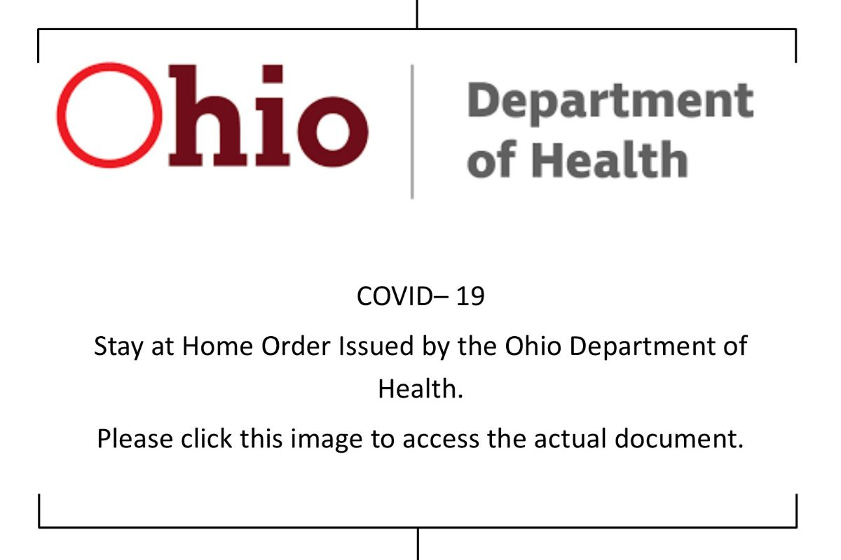 Ohio Stay at Home Order